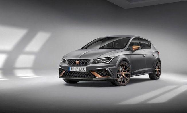 Seat Leon Cupra R搭配2.0升渦輪增壓4缸引擎,0至每小時100公里加速僅需5.8秒。(Seat提供)