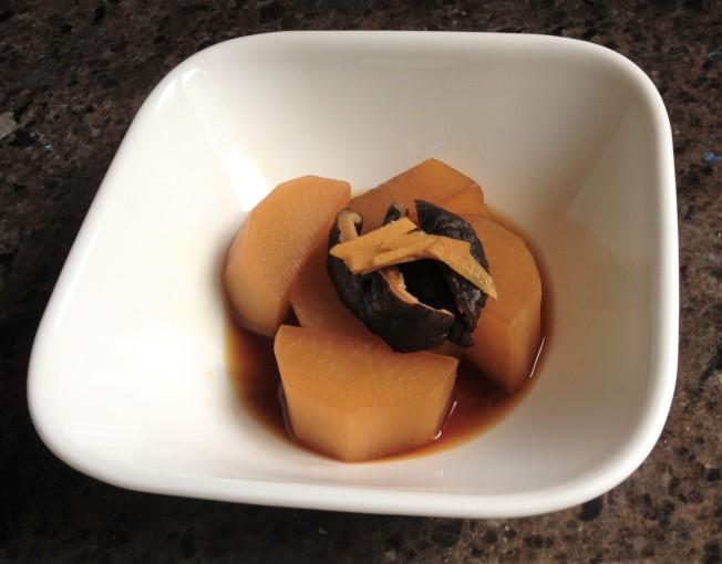 香菇燉蘿蔔