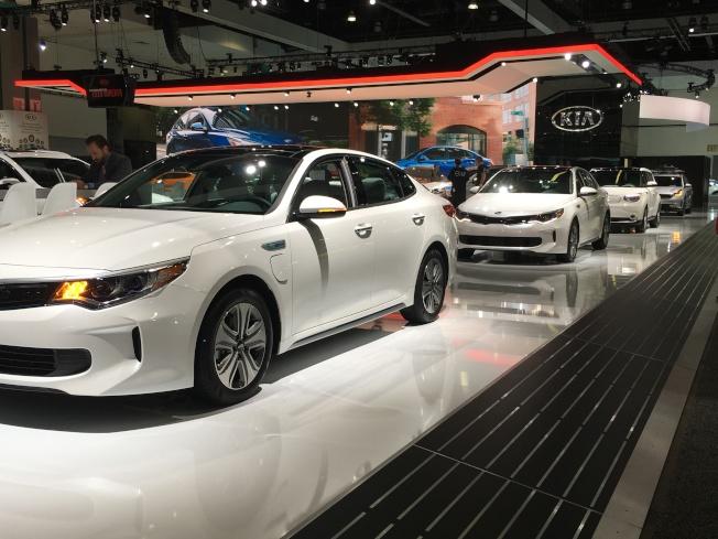 從12月1日起至10日,洛杉磯汽車展將開放給民眾參觀,請享受創新科技帶來的驚艷。(記者謝雨珊/攝影)