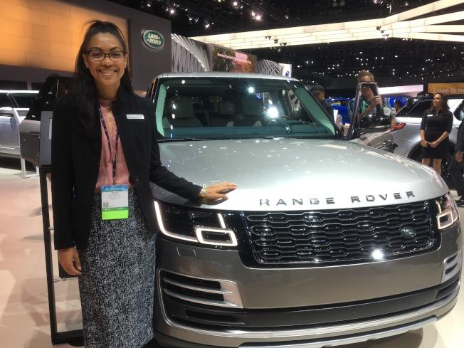 Jaquar、Land Rover產品溝通專家Maria Rodriquez認為,休旅車受歡迎是因給足客戶安全及享受家庭凝聚力的感覺。(記者謝雨珊/攝影)