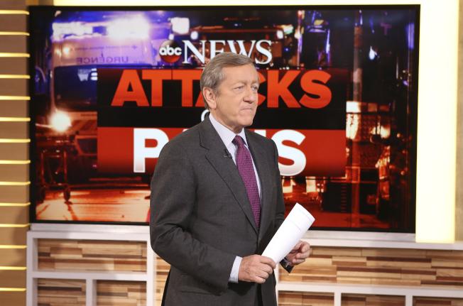 ABC調查報導採訪記者羅斯在對前任國家安全顧問佛林的新聞報導中出現「重大錯誤」,遭停薪停職四周處分。(美聯社檔案照片)