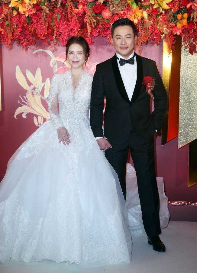 江宏恩與Vanessa舉辦婚禮。(記者陳瑞源/攝影)