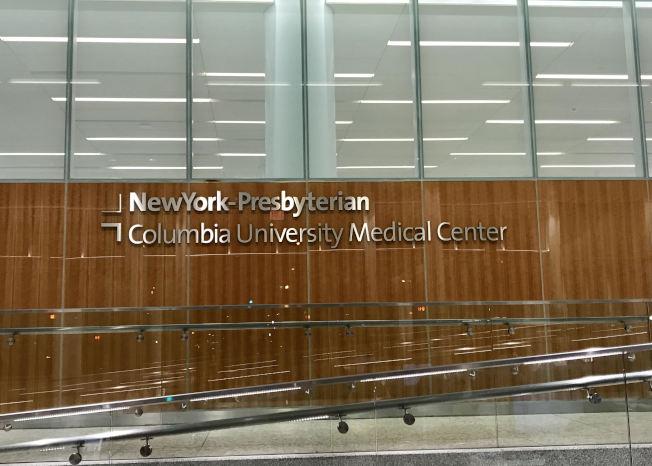 楊昭杰已轉至紐約長老會醫院哥倫比亞大學醫學中心救治。(記者俞姝含/攝影)