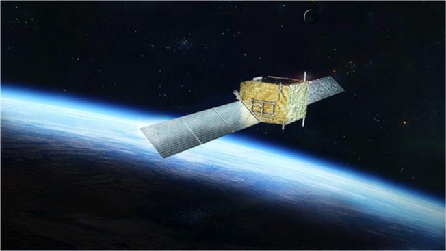 悟空號衛星示意圖。(取材自中國青年報/中科院供圖)