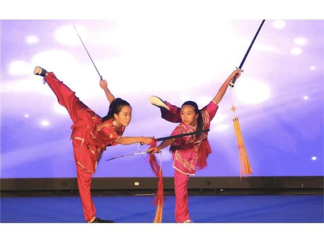 李佳倩(左)平日醉心中國武術。(取自西門子官網)