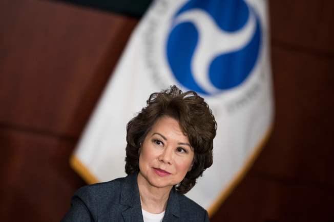 運輸部長趙小蘭稱,她在職場也遭到性騷擾。(Getty Images)
