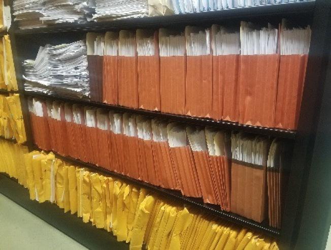 聖荷西市府仍然儲存大筆紙本報帳資料,督察辦公室建議升級使用電子系統。(市府提供)