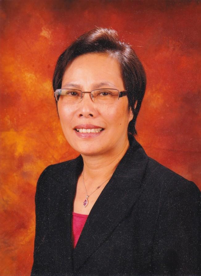 羅省保安堂主席廖美華搭檔梁永泰參選2018年羅省中華會館副主席。(廖美華提供)