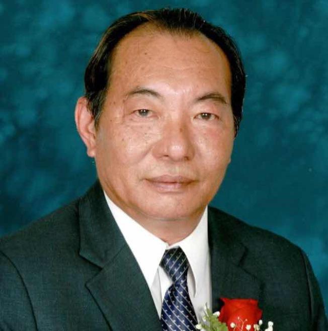 英端工商會元老梁永泰將參選2018年羅省中華會館主席。(梁永泰提供)