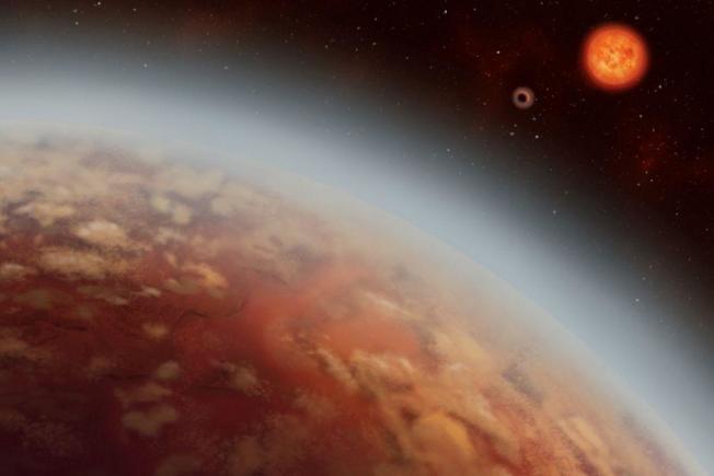 根據新研究,名為K2-18b的這顆太陽系外行星距離地球111光年,可能是有外星生命存在。圖取自 Alex Boersma