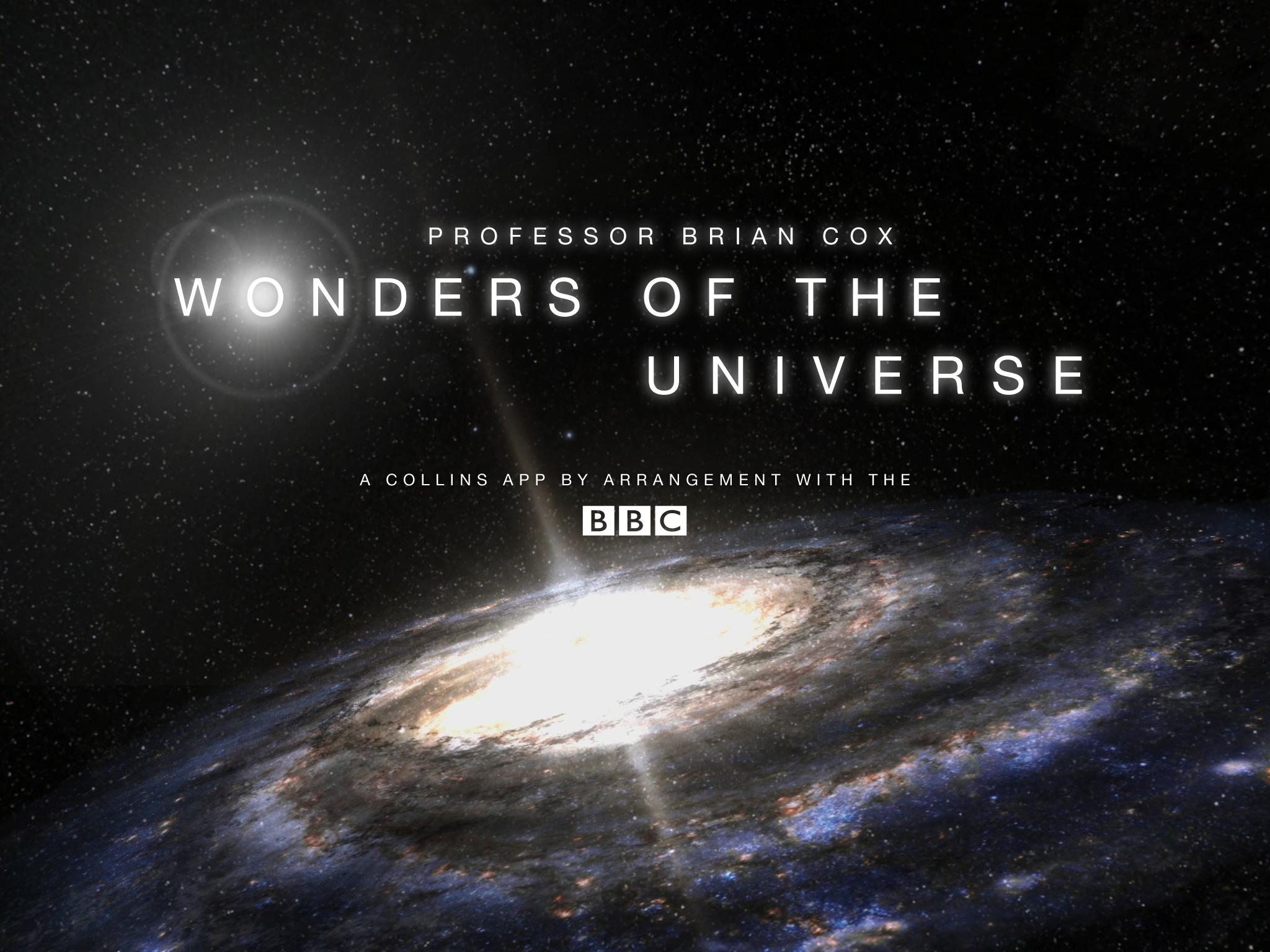 9日將首度放映的Wonders of the Universe。(取自Youtube)