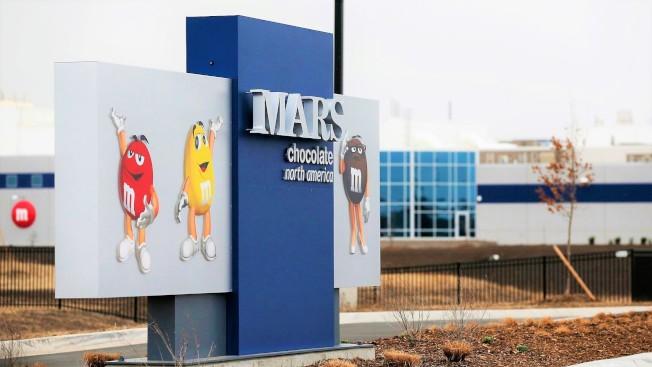 擁有M&Ms等著名糖果產品的業內巨擘瑪氏公司將總部落戶紐瓦克。(美聯社)