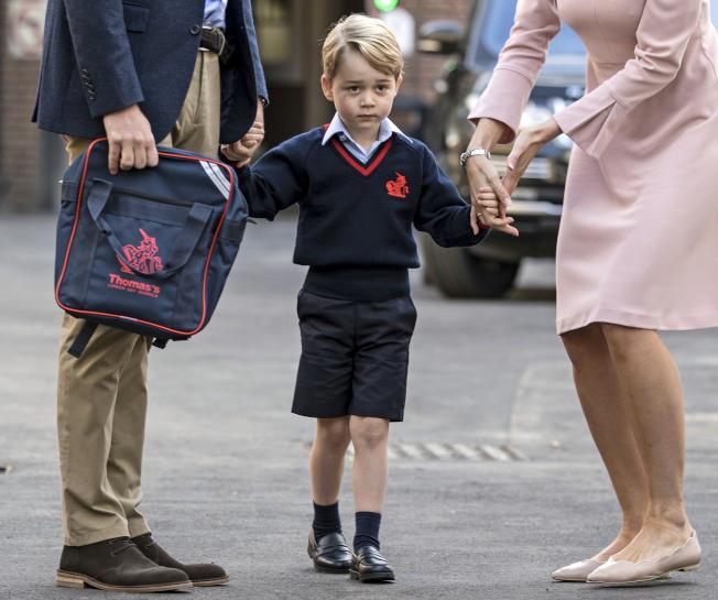 英國喬治小王子。(美聯社)