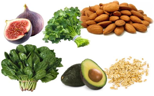 常吃綠葉蔬菜、豆子、堅果、奶油果等,可獲得每日所需的鎂。(網路圖片)