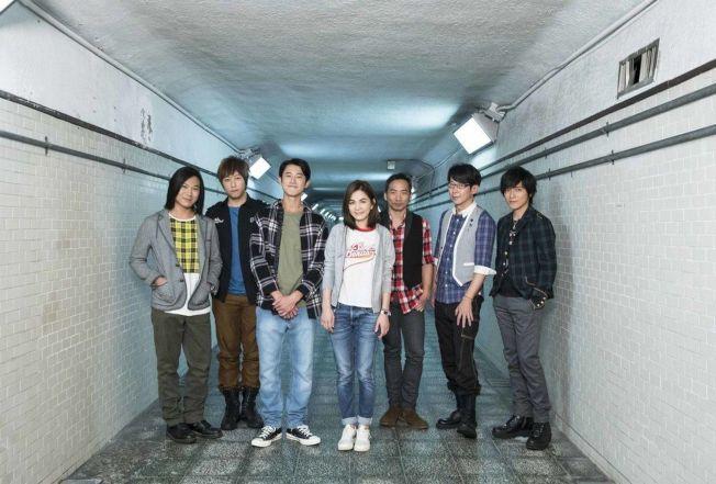 Ella和吳慷仁為五月天新歌合拍MV。(圖:相信音樂提供)