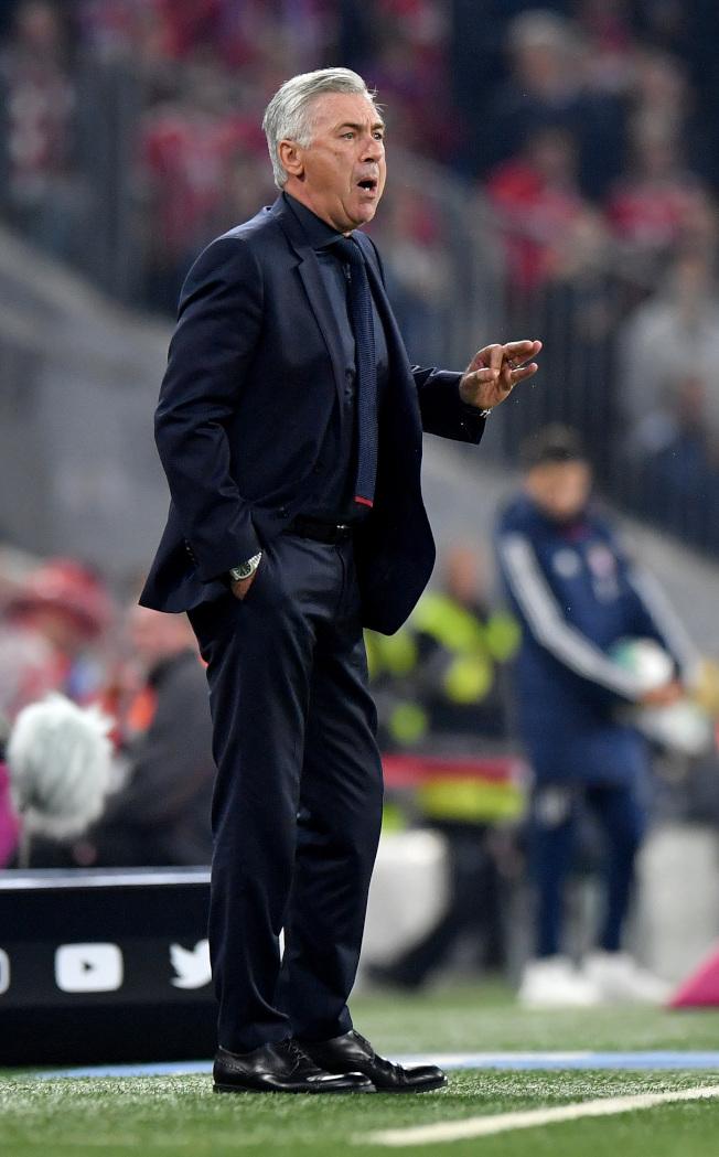義大利國家隊主帥工作,安切洛蒂會考慮。(Getty Images)