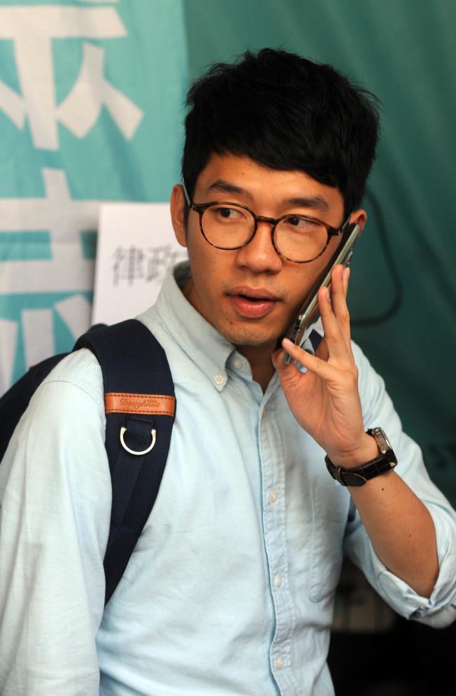 香港眾志主席羅冠聰。(中通社資料照片)