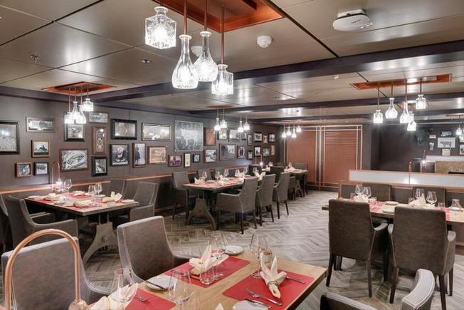 海濱級遊輪上的餐廳之一Butchers Cut美國牛排館。(MSC Cruises提供)