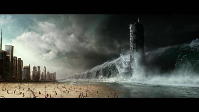 「氣象戰」不脫災難片的老套。圖/摘自imdb
