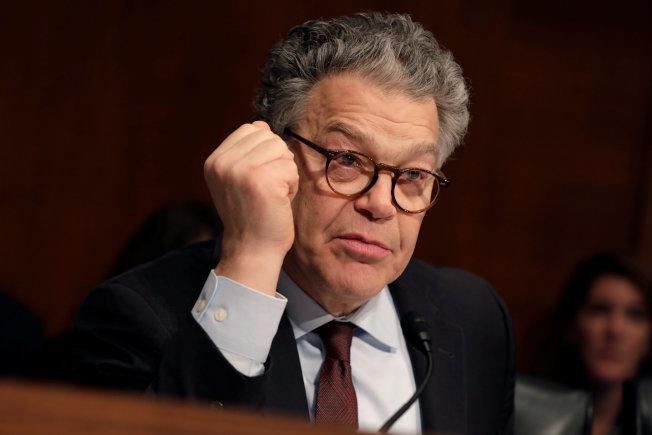 已有更多女性出面指控民主黨國會參議員法蘭肯性騷擾。(路透)