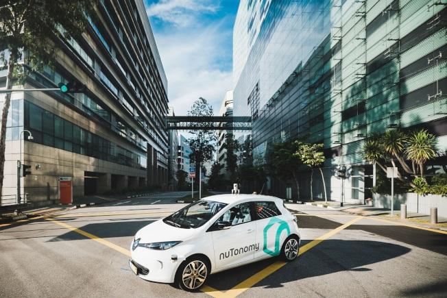 nuTonomy 公司與Lyft 合作,6日起在波士頓海港區開展「無人車」接送服務。(取自nuTonomy 網站)