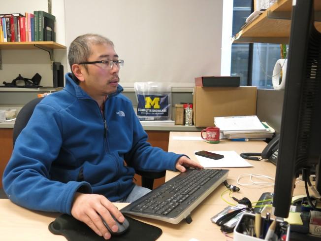密西根大學助理教授徐宏偉表示,根據最新研究分析,曾在嬰兒期遭遇中國大饑荒者,步入中年後,認知能力急遽下降。(密西根大學提供)