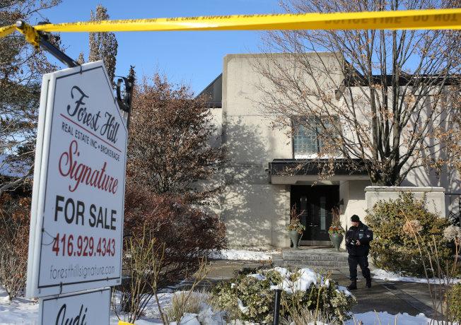 席爾曼與哈妮陳屍的豪宅即將出售,該豪宅價約700萬加元。(路透)