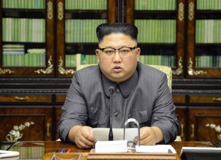 北韓領導人金正恩。(路透)