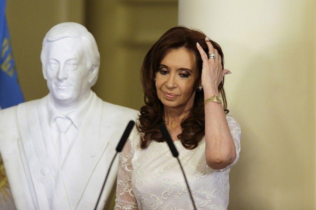 阿根廷前總統費南德茲日前因叛國罪名遭到法官逮捕。(美聯社)