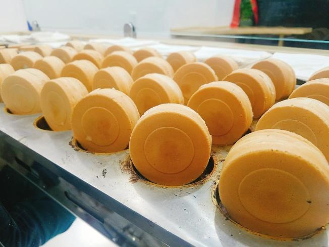 首家台灣小吃車輪餅店進駐華埠。(店家提供)