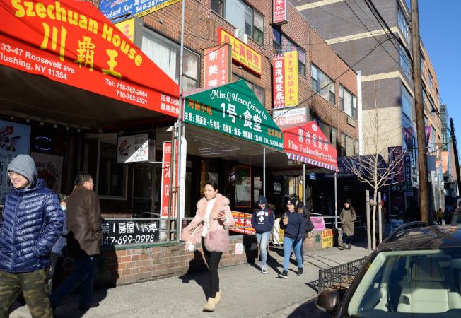 「新美華鐵路便當」現已改為「1號‧食堂」河南小吃店。(記者朱澤人/攝影)