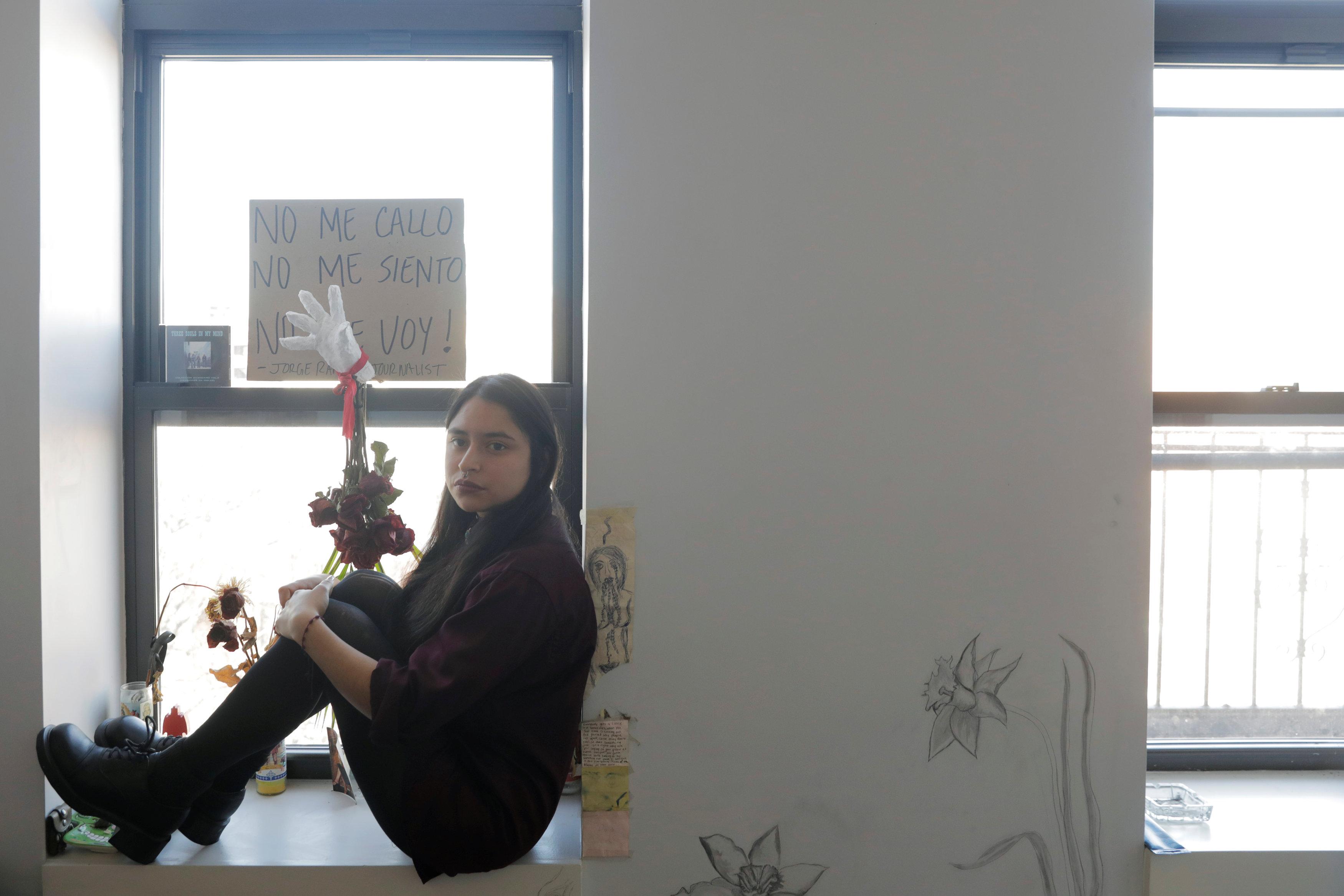 立法受阻,夢想生曼杜沙坐在紐約公寓裡,不知何去何從。(路透)