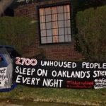 抗議漠視遊民問題 屋崙維權人士 市長家門前紮營