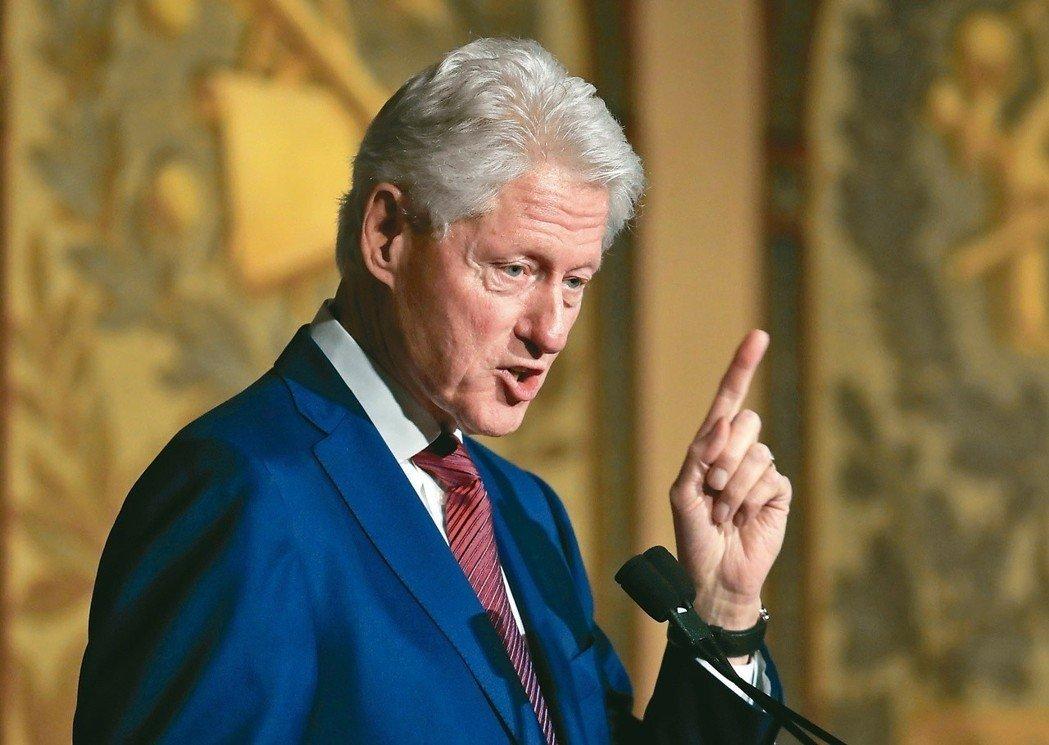 美国前总统柯林顿2009年曾造访平壤。美联社
