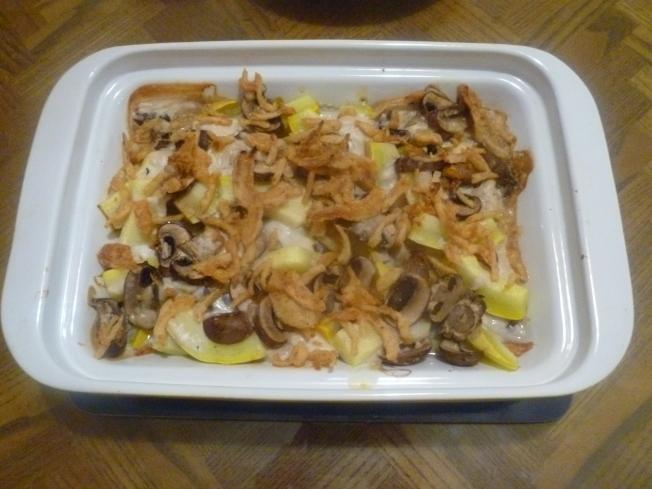 烘烤香浓蘑菇味夏瓜