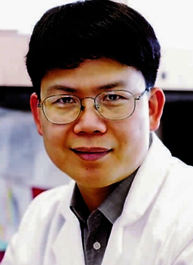 德州大学西南医学中心教授陈志坚。 (取自百度)