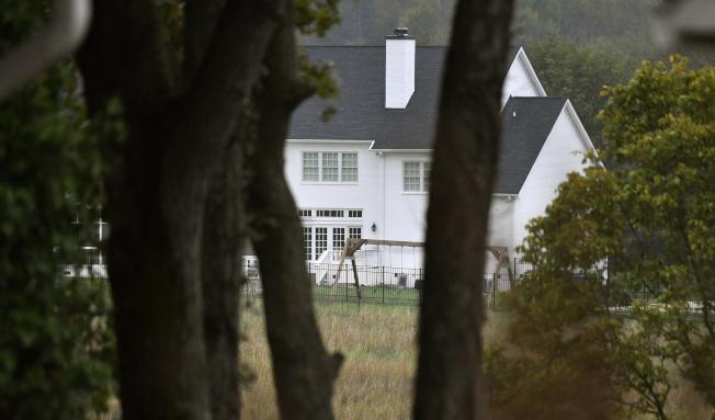 发生母亲杀四名子女后再自杀的住宅。 (George Walker IV/The Tennessean,美联社)