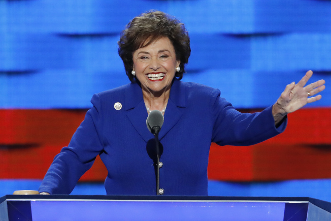 众院拨款委员会新主席人选妮塔.罗威,将成为第一个担任委员会主席的女性。 (美联社)
