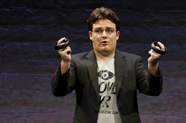 脸书VR神童、Oculus VR创办人拉奇遭开除,原因可能是他支持美国总统川普。路透