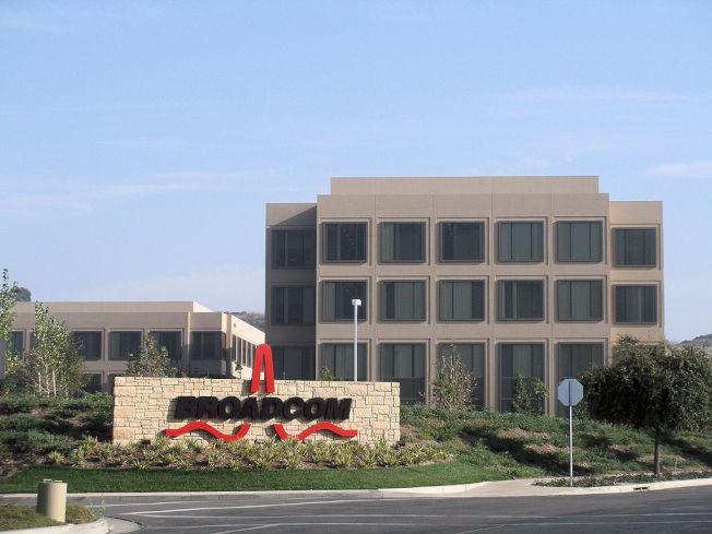 美国晶片大厂博通(Broadcom)。图/取自wikipedia
