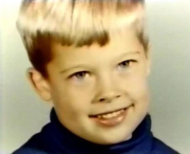 布莱德彼特小时候的模样。图/摘自Instagram