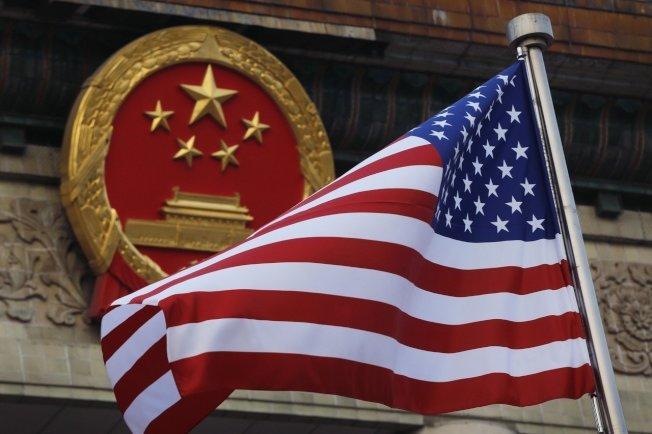 中美贸易战。 (美联社)