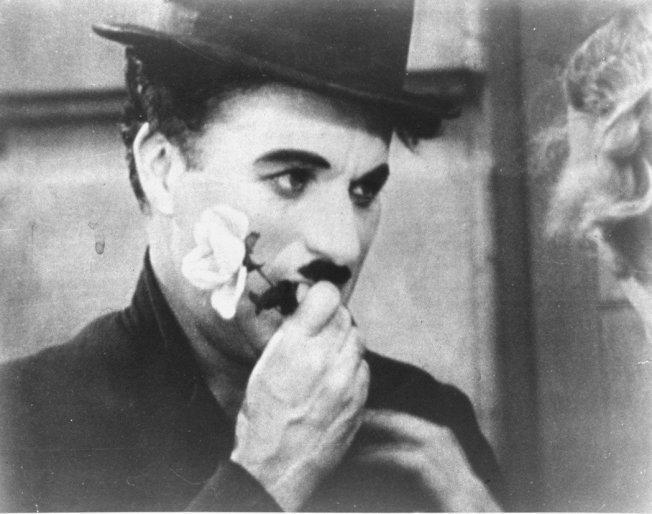 卓别林许多电影明年将丧失版权进入公共领域。 (美联社)
