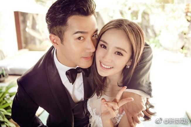 杨幂(右)、刘恺威甜蜜已成往事。 (取材自微博)