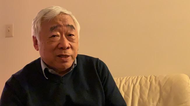 庄易计画2020年退休,每四年过一次生日的他希望能在闰年退休。 (记者张筠/摄影)