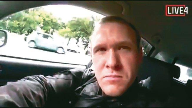 纽西兰基督城十五日发生清真寺恐攻,主嫌澳洲男子塔伦在betway体育客户端直播犯案过程。美联社