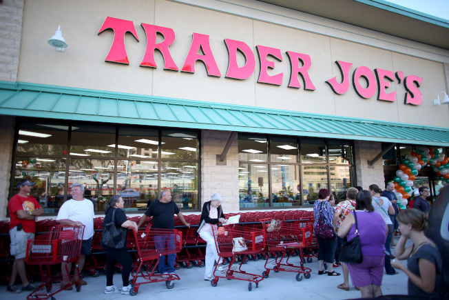 Trader Joe's超市在富比世调查中,获得全美最佳雇主的荣誉。 (Getty Images)