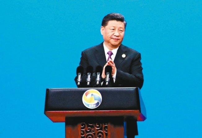 中国国家主席习近平昨日在一带一路国际合作高峰论坛开幕强调,中国将再扩大开放。美联社