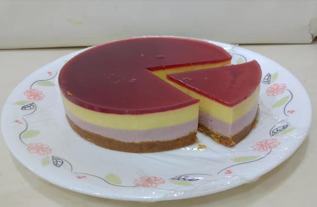 莓果乳酪慕斯。 (图:陈今珍提供)