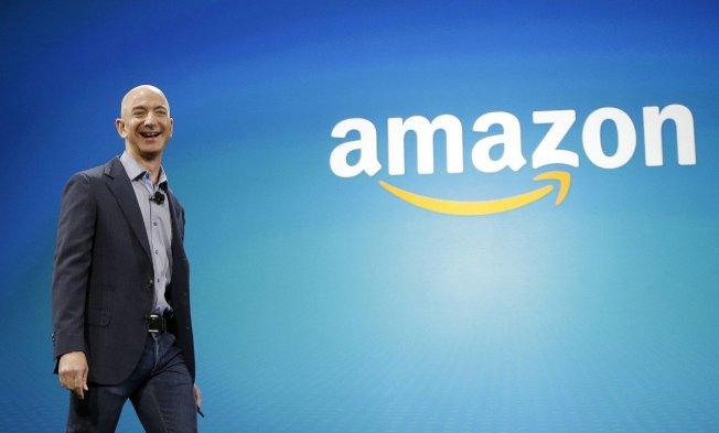 亚马逊创办人贝佐斯很注重隐私。美联社